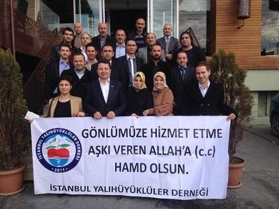 Yalıhüyüklüler İstanbul'da buluştu