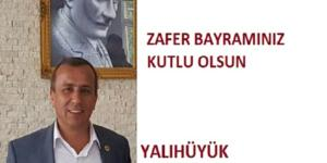 BAŞKAN KOÇER'İN 30 AĞUSTOS ZAFER BAYRAMI MESAJI