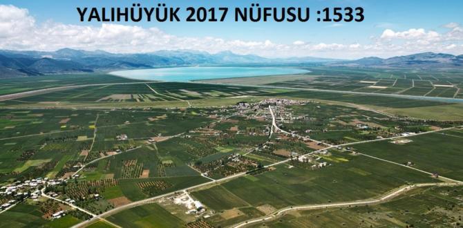 YALIHÜYÜK  2017 NÜFUSU: 1533
