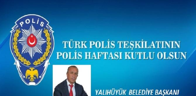 BAŞKAN  KOÇER POLİS HAFTASINI KUTLADI