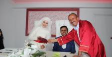 Başkan Koçer Genç  çiftlerin nikahını kıydı