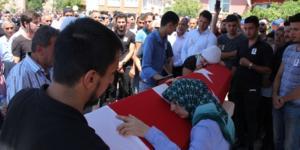 POLİS MEMURU MÜCAHİT ÖRS TOPRAĞA VERİLDİ