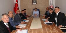 İlçe  idare şube  başkanları toplantısı yapıldı