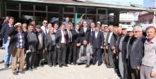 Başkan  Altay Yalıhüyük'de