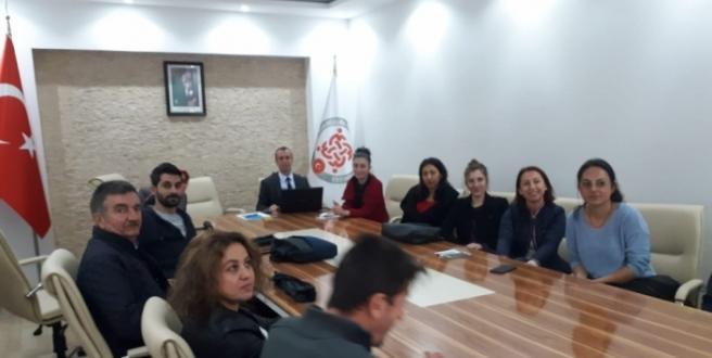 Erasmus eğitim programı düzenlendi