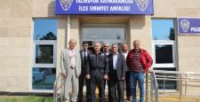 Muhtarlardan Kaymakam Yurdagül'e ziyaret