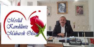 Başkan  Koçer 'den mevlit  kandili  mesajı