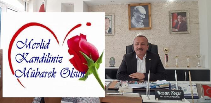 Başkan Koçer'den mevlid kandili mesajı