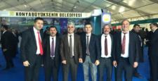 Yalıhüyük Belediyesi İstanbul Fuarında stand açtı