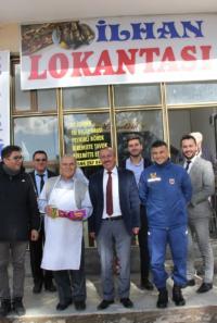 İlhan  lokantası hizmete açıldı