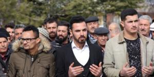Ali Şeker için asker duası yapıldı