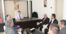 Başkan adayı Soylu'dan kamu kurumlarına ziyaret