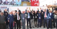 Başkan  Altay  Yalıhüyük'de  halka  hitap etti