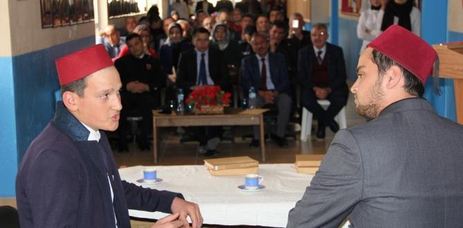 İlçemizde İstiklal Marşı'nın Kabulü Programı düzenlendi