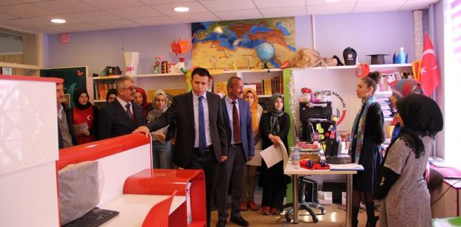 Kaymakam  Yurdagül'den  okullara ziyaret