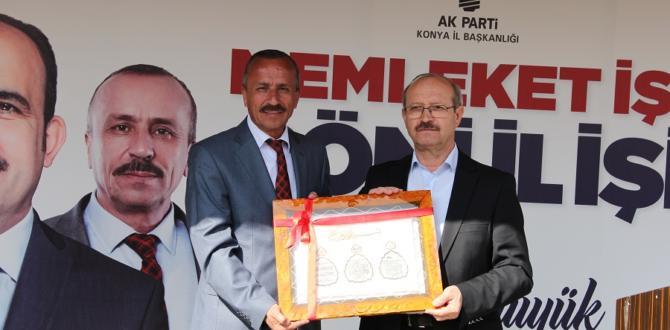 Milletvekili Sorgun Yalıhüyük'de halka hitap etti