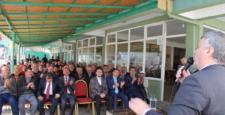 Konya Milletvekili Tahir Akyürek Yalıhüyük'te