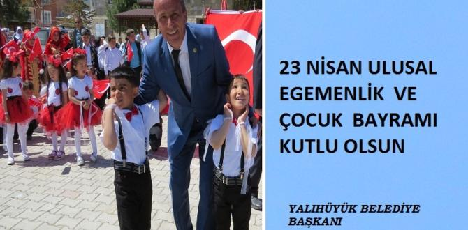 Başkan Koçer'den 23  Nisan  Kutlama  mesajı