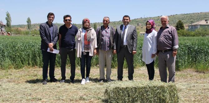 Kaymakam Kılınç  çiftçiler  gününü kutladı