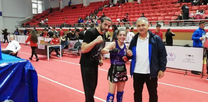 Seydişehir Belediyesi Muay Thai Takımından 2 Türkiye üçüncülüğü