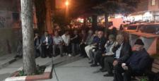 Kaymakam Kılınç cami cemaati  ile  sohbet etti