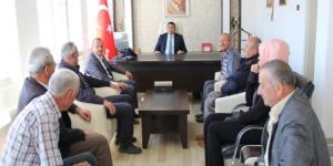 Başkan  Koçer'den   yeni Kaymakama ziyaret