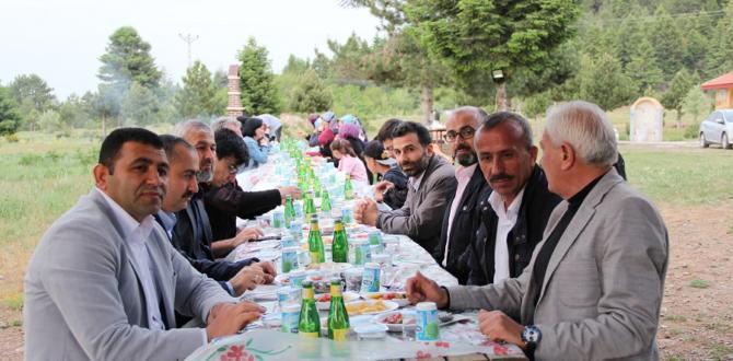 Bölge Erkanı Gölcük'te iftar açtı