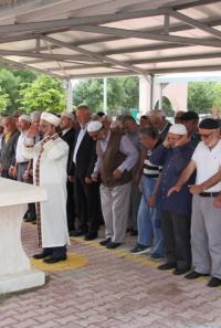 Mursi için Yalıhüyük'de  cenaze namazı kılındı