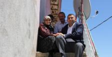 Kaymakam Kılınç'ın Hane ziyaretleri