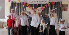 Kuran Kursu  öğrencileri mezuniyet heyecanı yaşadı