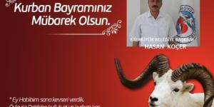 Başkan Koçer'den Kurban bayramı mesajı