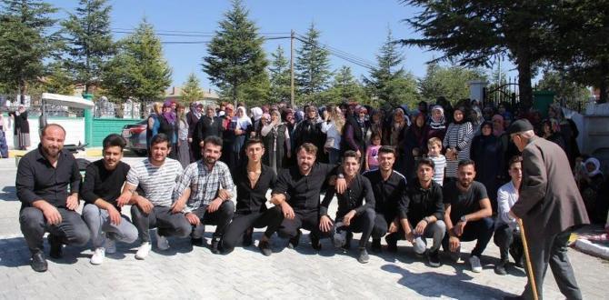 99/4 tertip asker adayları için dua yapıldı