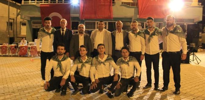 Yalıhüyük belediyesi asker gecesi düzenledi
