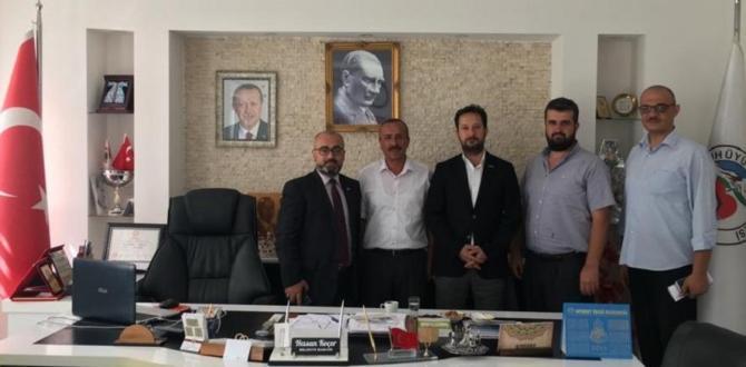 Müsiad Seydişehir Şube başkanından başkan Koçer'e iade i ziyaret