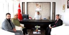 Ak Parti teşkilatından Kaymakam Kılınç'a ziyaret