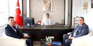 Medaş'tan  Kaymakam  Kılınç'a ziyaret
